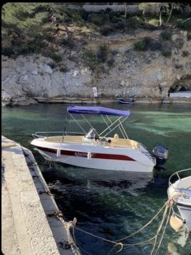 Boat rental Marseille cheap Eden 18