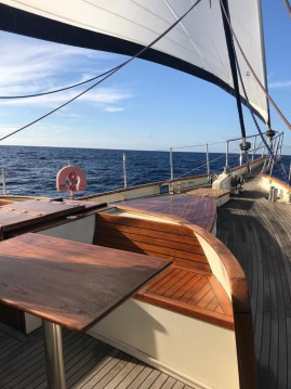 Ketch custom 50/50 between personal and professional Mindelo