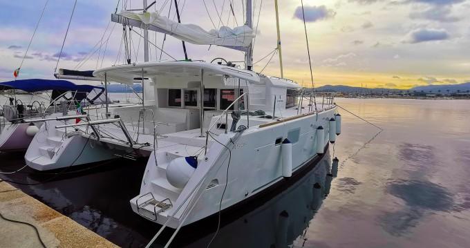Catamaran for rent Palau at the best price