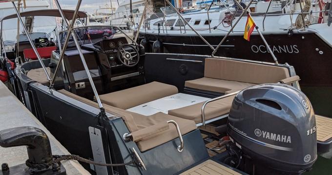 Boat rental Provincia de Alicante cheap Nuva M6 Open
