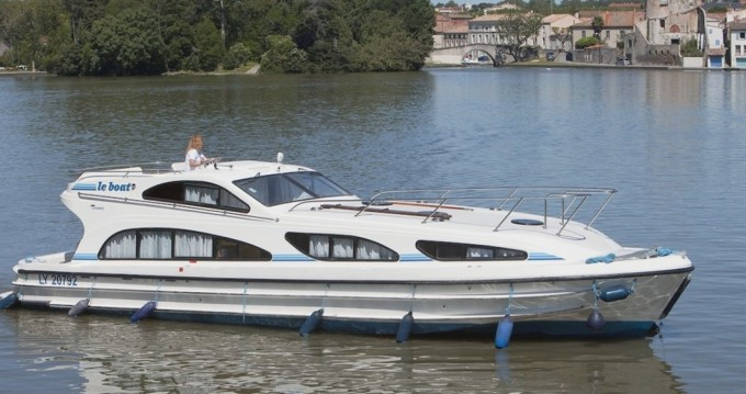 Hire Canal boat with or without skipper CBL Castelnaudary