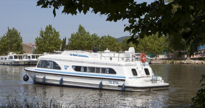Hire Canal boat with or without skipper Calypso Castelnaudary