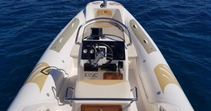 Hire RIB with or without skipper Bsc Pietrosella