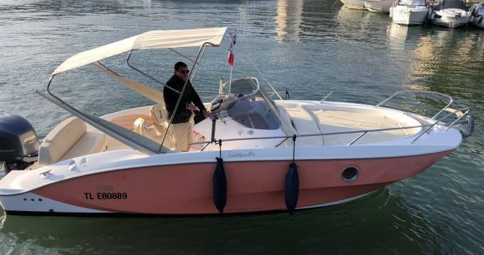Sessa Marine Key Largo 24 between personal and professional Mandelieu-la-Napoule