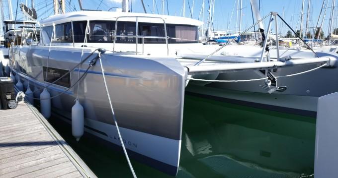 Boat rental Lagoon Lagoon 46 in Sant Antoni de Portmany on Samboat