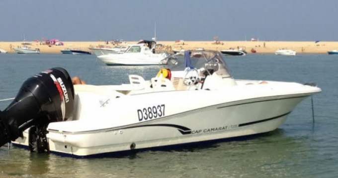 Hire Motorboat with or without skipper Jeanneau Pyla sur Mer