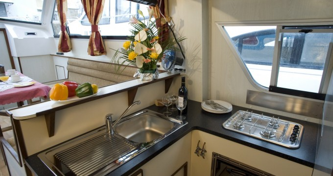 Rental Canal boat in Hesse - Continentale Continentale