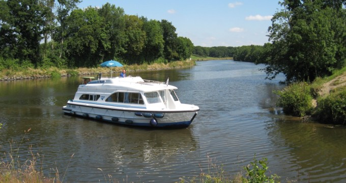 Canal boat for rent Hesse at the best price