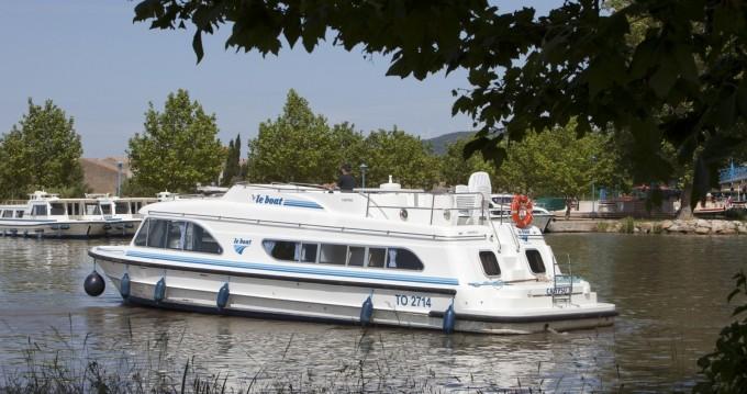 Rental Canal boat in Le Mas-d'Agenais - Calypso Calypso