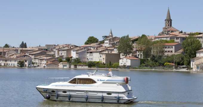 Hire Canal boat with or without skipper Countess Le Mas-d'Agenais