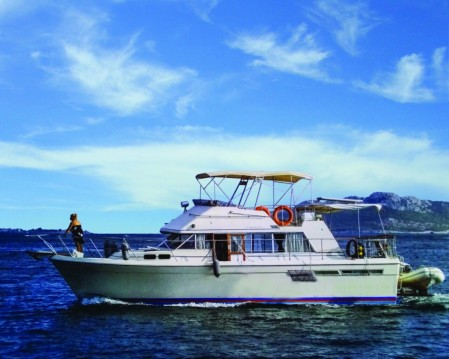 Rental yacht Mykonos (Island) - Bayliner Bodega 43 on SamBoat