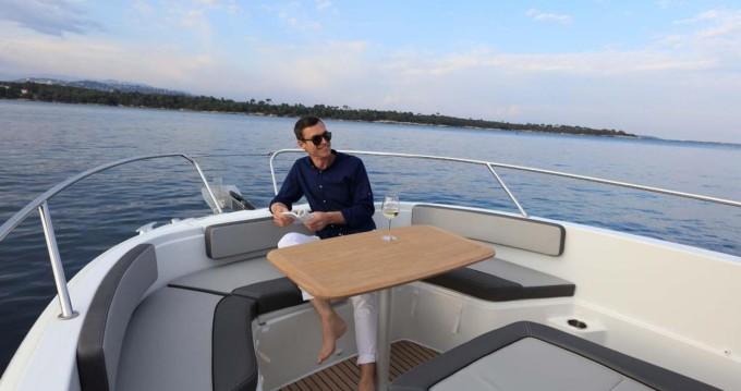 Boat rental Formentera cheap Cap Camarat 9.0 CC