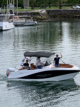 Okiboats Barracuda 545 Open between personal and professional Santander