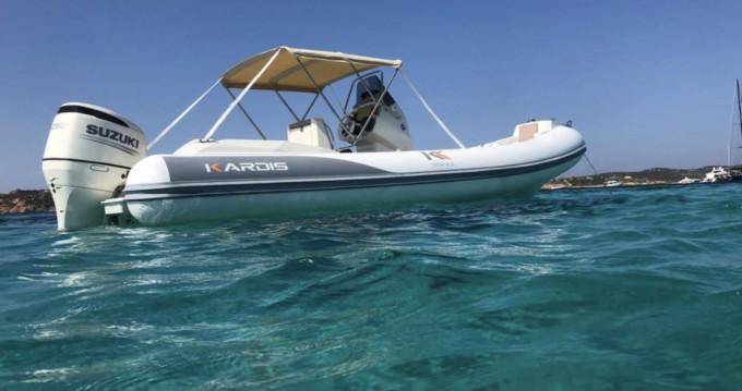 Rental RIB in Tropea - Kardis Kardis Fox 570