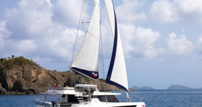 Rental Catamaran in Road Town - Leopard Moorings 5000