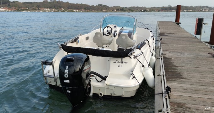 Motorboat for rent Anglet at the best price