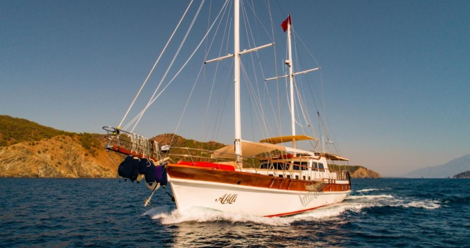 Hire Sailboat with or without skipper Gulet Fethiye