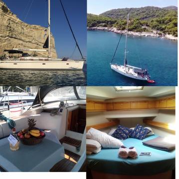 Boat rental Bavaria Bavaria 46 Cruiser in Split Ferry Port on Samboat