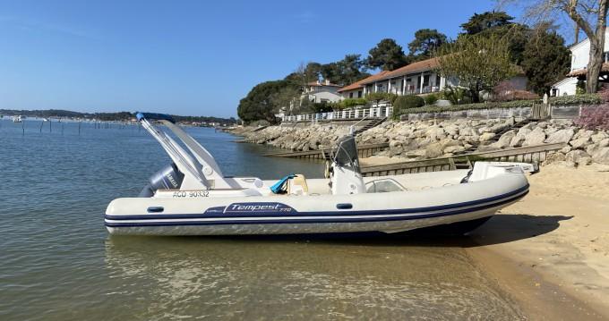 Rental RIB in Lège-Cap-Ferret - Capelli Tempest 770