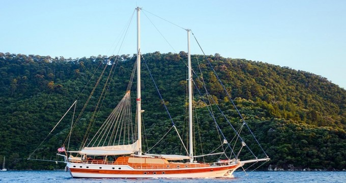 Rental Sailboat in Bodrum - Gulet Custom Built Gulet