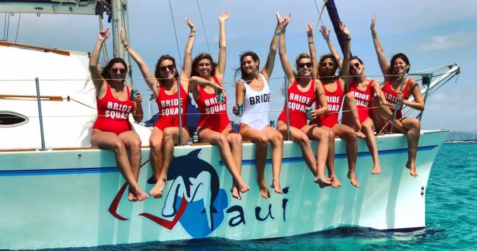 Catamaran for rent Ibiza Island at the best price