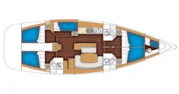 Boat rental Lefkada (Island) cheap Cyclades 50.5