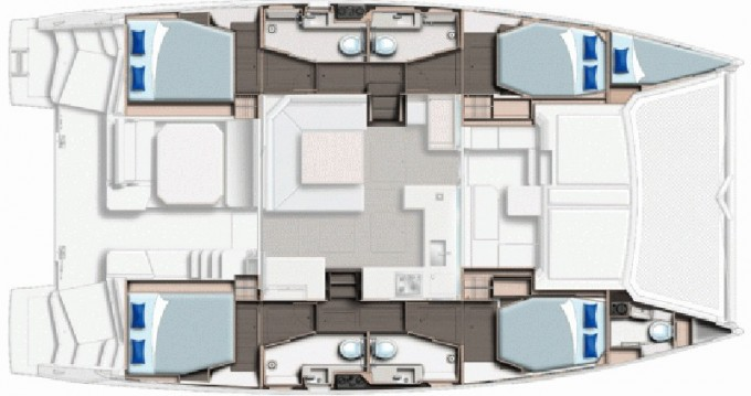 Catamaran for rent Saint George at the best price