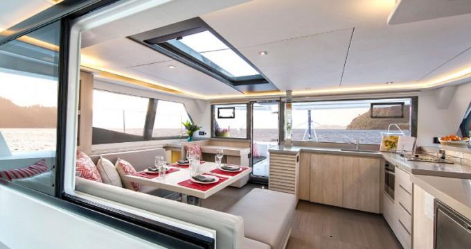 Rental Catamaran in Saint George - Leopard Moorings 4500L