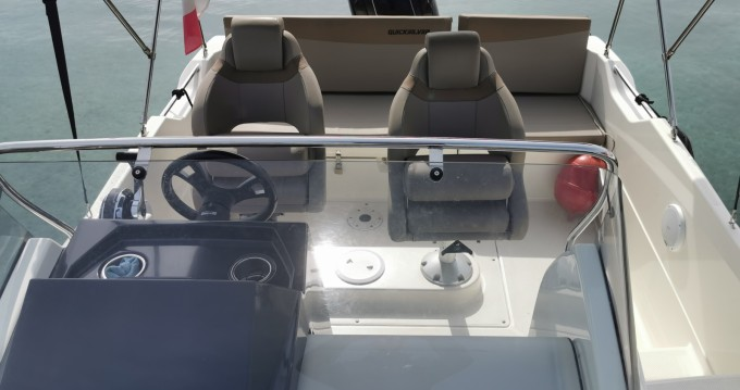 Boat rental Quicksilver Activ 605 Open in Cannes on Samboat