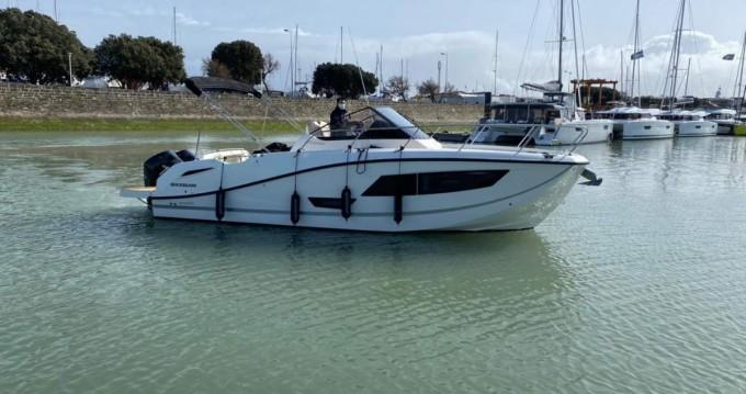 Rental Motorboat in Royan - Quicksilver Activ 875 Sundeck