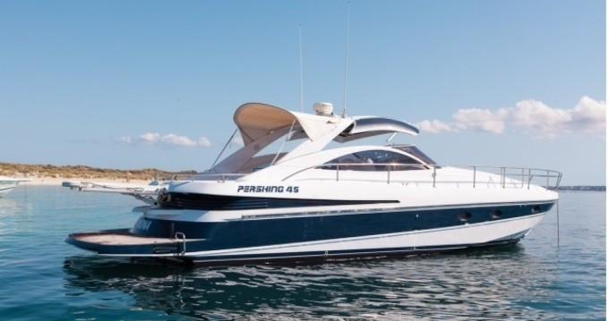 Rent a Pershing Pershing 45 Ibiza Town
