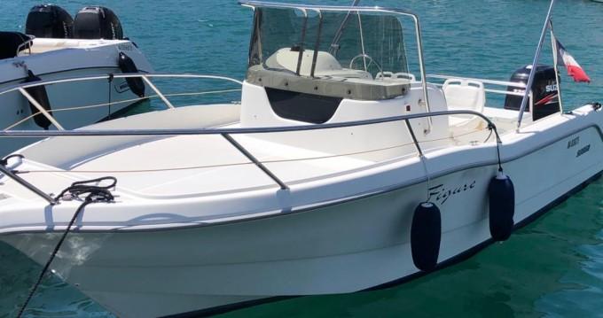 Rent a Sessa Marine Key Largo 23 Cassis