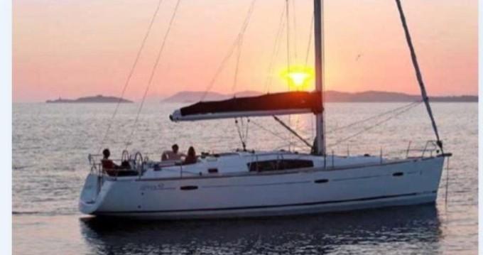 Boat rental Alimos cheap Oceanis 43
