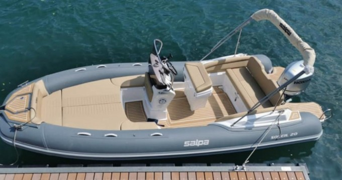 Hire RIB with or without skipper Salpa Porticcio