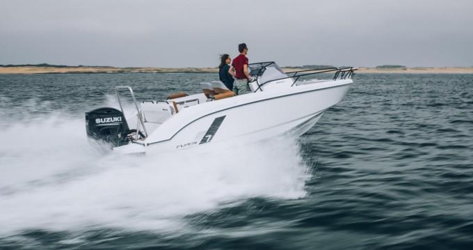 Rental Motorboat in Propriano - Bénéteau Flyer 7 SUNdeck