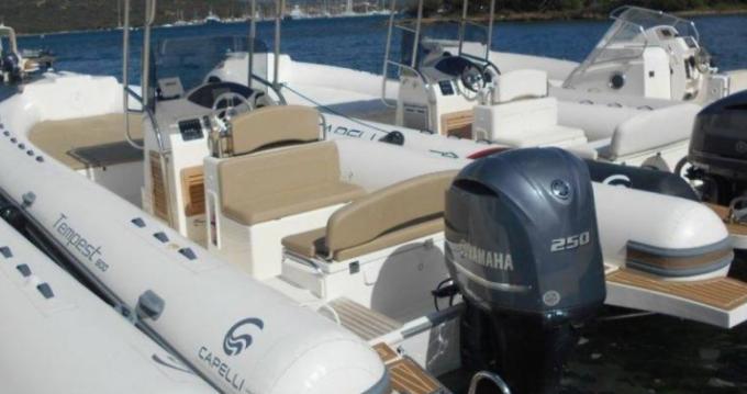 Rental RIB in Arbatax - Capelli Tempest 900 WA