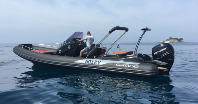 Hire RIB with or without skipper Grand Boats Rovinj