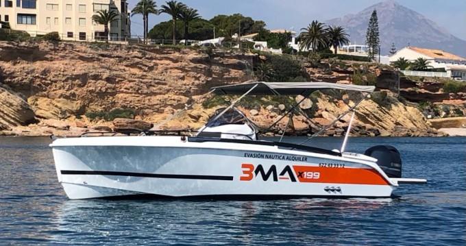 Boat rental Altea cheap Bma X 199