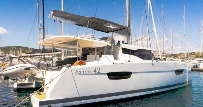 Boat rental Préveza cheap Astrea 42