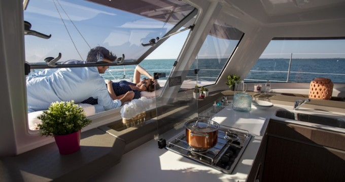 Bali Catamarans Bali Catspace Sail between personal and professional Barcelona