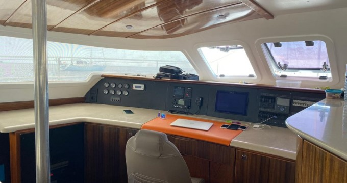 Fountaine Pajot Marquises 56 between personal and professional Barcelona