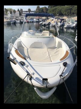 Boat rental La Ciotat cheap Cap Camarat 625 WA