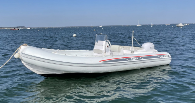 Hire RIB with or without skipper Selva Grand Piquey
