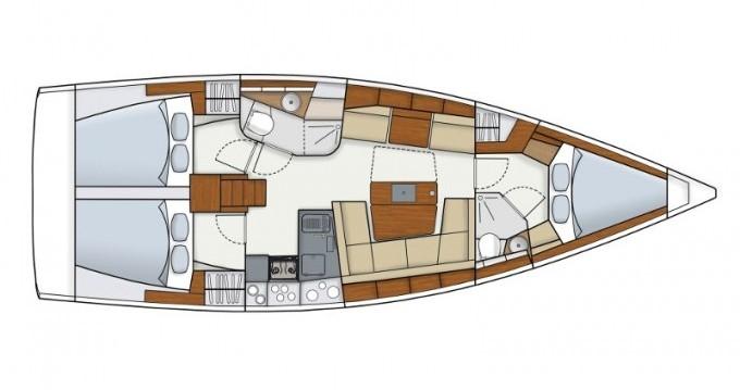 Rental Sailboat in Ibiza Town - Hanse Hanse 415