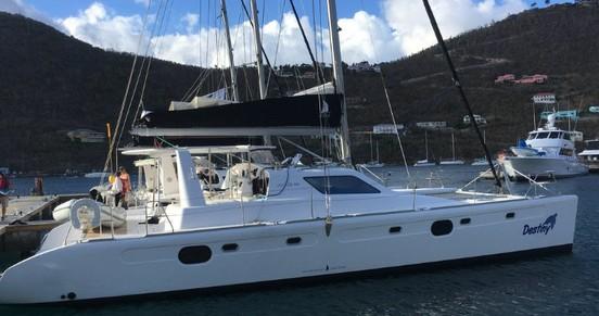 Boat rental Voyage Voyage 480 in Tortola on Samboat