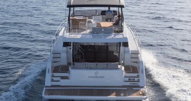 Rental yacht Tortola - Fountaine Pajot My 44 on SamBoat