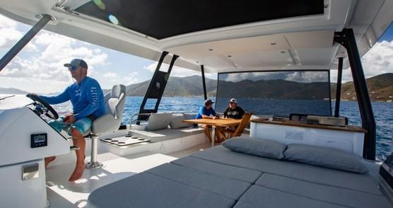 Rental Motorboat in Tortola - Fountaine Pajot My 44