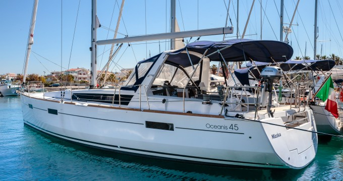 Boat rental Reggio Calabria cheap Oceanis 45