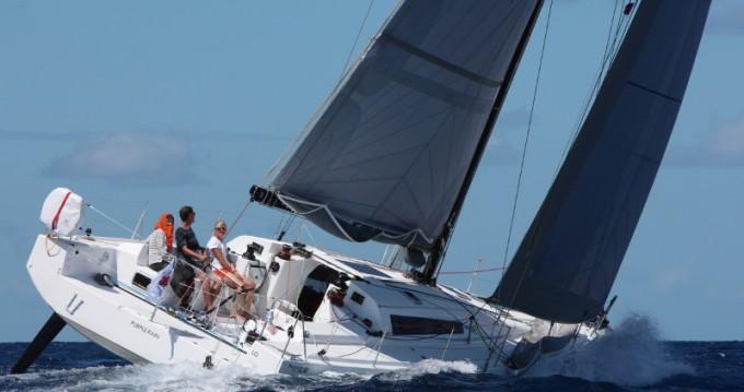 Boat rental Le Marin cheap Pogo 12.50