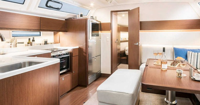 Boat rental Lefkada cheap Cruiser 46 Style